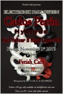 Carlos Perón @ Fetish Café